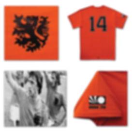 Holland Cruyff football shirt