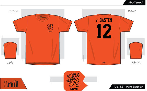 Netherlands 1988 - No.12 van Basten