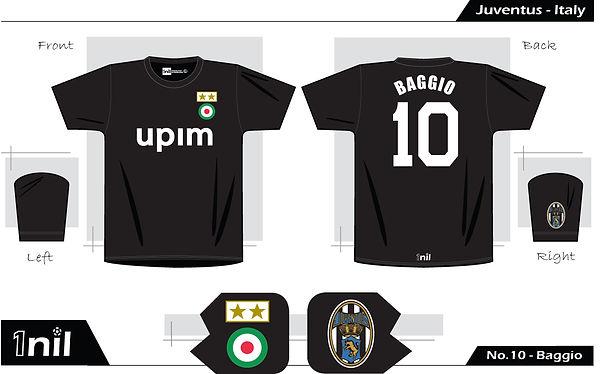 Juventus 1990 - No.10 Baggio