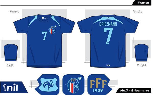 France - No.7 Griezmann