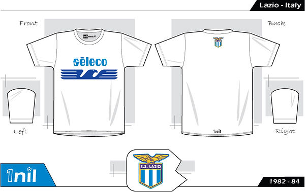Lazio Seleco football shirt