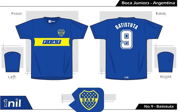 Boca Juniors 1991 - No.9 Batistuta