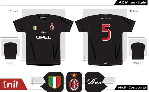 AC Milan 1995 - No.5 Costacurta