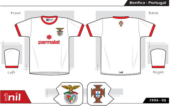 Benfica 1994 football shirt