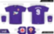 Fiorentina football shirt Batistuta 7UP