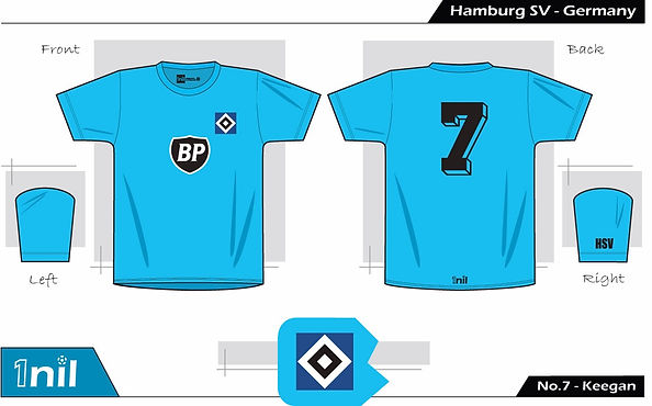Hamburg SV 1979 - No.7 Keegan