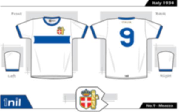 Italy1934 - No. 2 Meazza