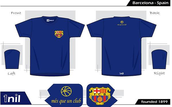 Barcelona - retro football shirt