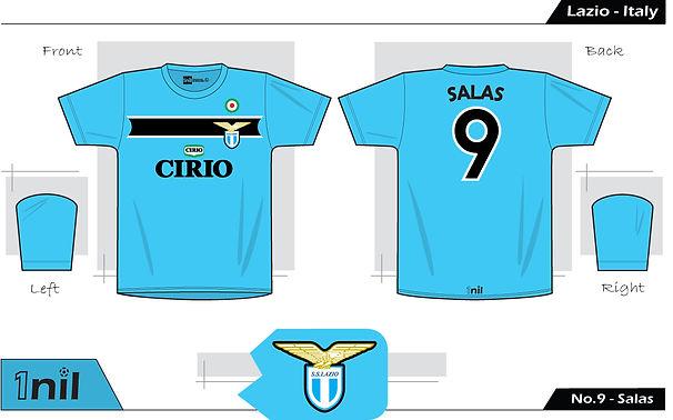 Lazio 1998 - No.9 Salas