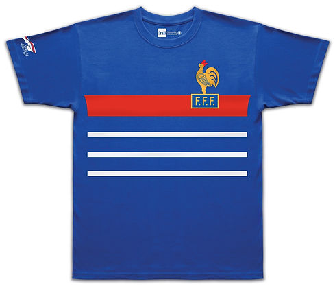 France 1984 - No.10 Platini shir