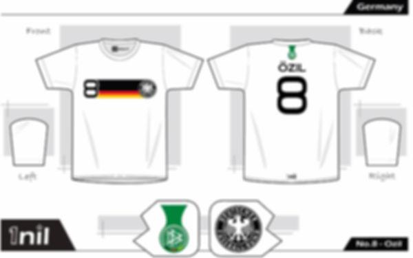 Germany 2010 - No.8 Ozil