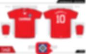 Hamburg SV football shirt