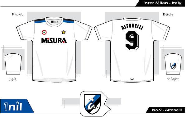Inter Milan 1982 - No.9 Altobelli