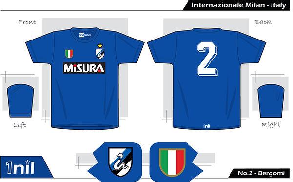 Inter Milan 1984 - No.2 Bergomi