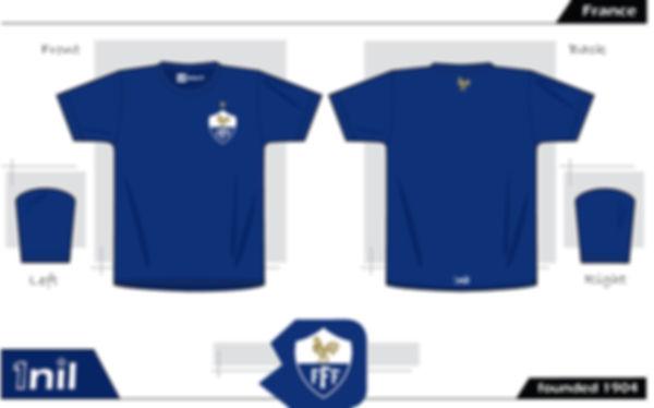 France - footbal shirt