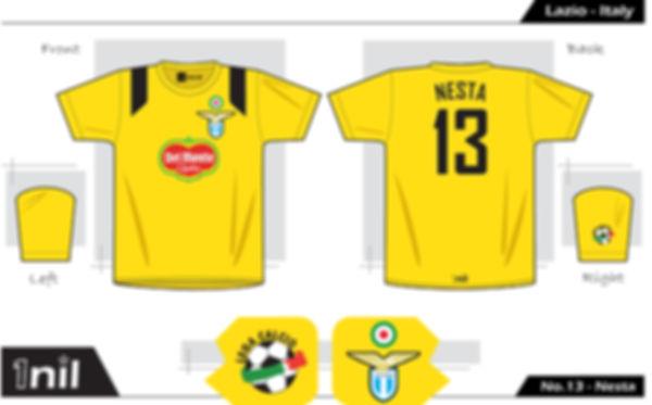 Lazio 1998 - No.13 Nesta / 01