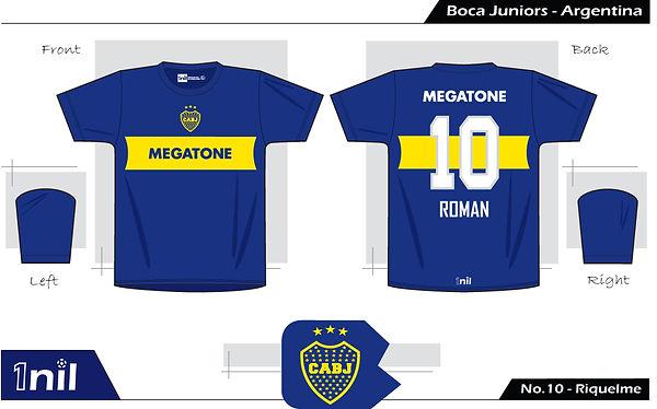 Boca Juniors 2007 - No.10 Riquelme