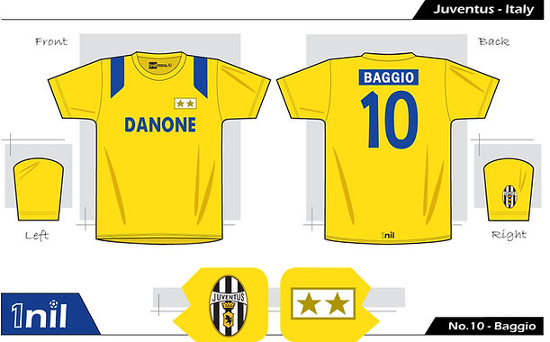 Juventus 1993 - No.10 Baggio