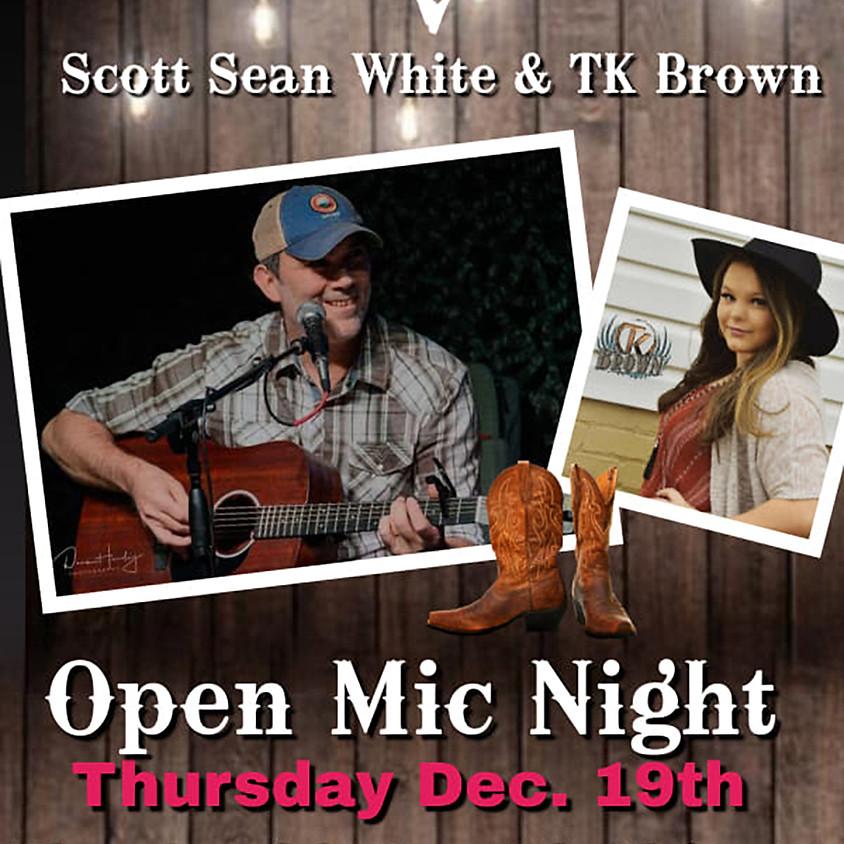 Scott Sean White and TK Brown
