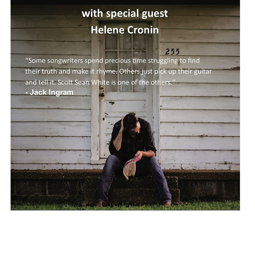 Scott Sean White CD Release Party Free Show with special guest Helen Cronin