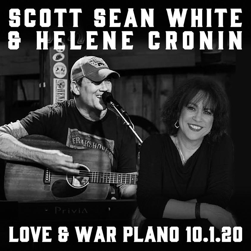 Scott Sean White & Helene Cronin