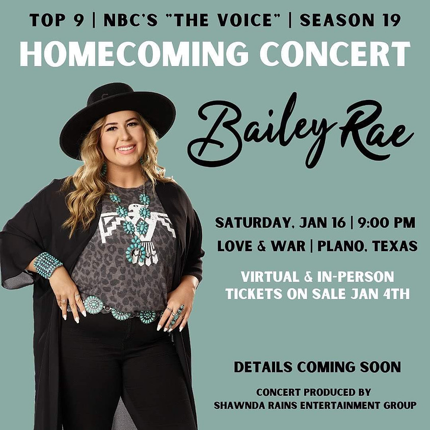 Bailey Rae  - Homecoming