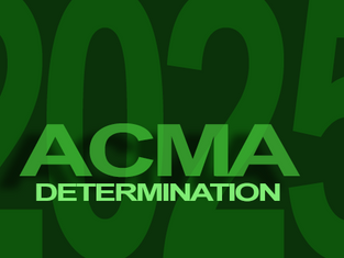 The ACMA Determination makes Radiofrequency  spectrum available for LPON services until 31 December