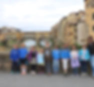 Gruppo di studenti a Firenze
