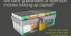 Surety Bonds are back in vogue!