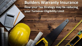 Residential Builders - How to increase Turnover Eligibility Limits for Builders Warranty Insurance