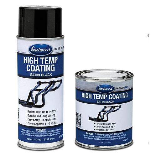 EW Satin Black Hi-Temp Coating 11.75 Oz Aerosol
