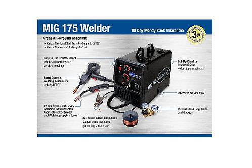 EASTWOOD 175 AMP MIG WELDER W/ SPOOL GU