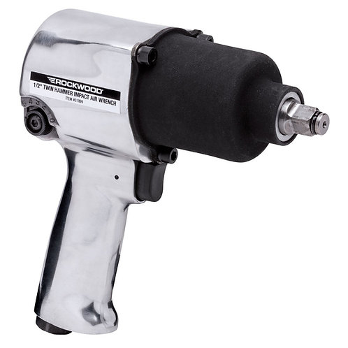 """ROCKWOOD® 1/2"""" TWIN HAMMER IMPACT AIR WRENCH 31899"""