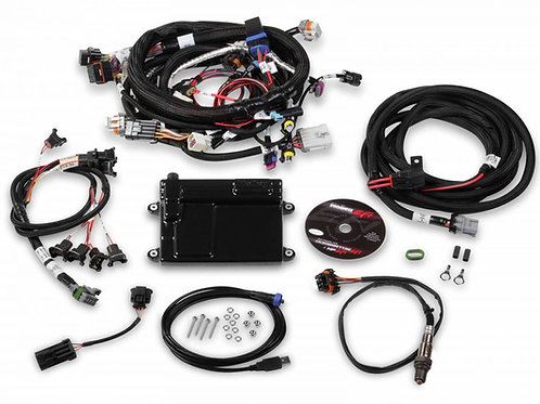 HOLLEY HP EFI ECU AND HARNESS KIT FOR LS2 LS3 LS7 58X WITH EV1 CONNECTORS - BOSC