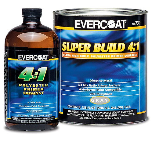 EVERCOAT SUPER BUILD PRIMER GALLON 4:1 12577ZP