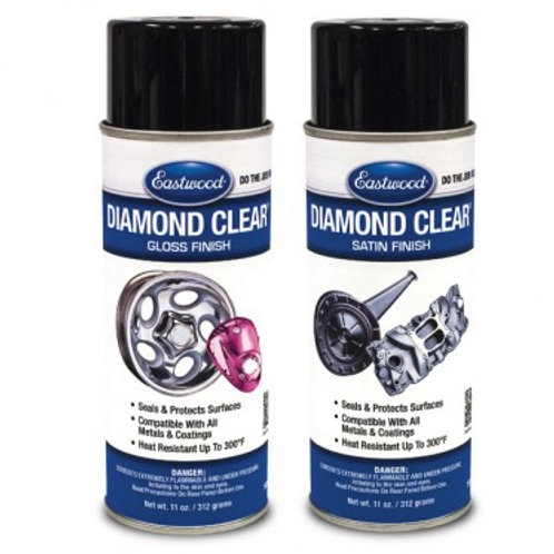EASTWOOD DIAMOND CLEAR DTM AND PAINTED SURFACES AEROSOL SATIN