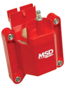 MSD MSD Ignition Coil High Performance, Red,