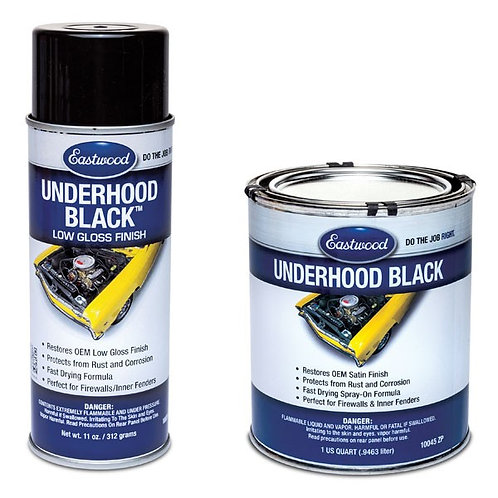 Eastwood UNDERHOOD BLACK® Semi Gloss Aerosol 11 Oz 10024z
