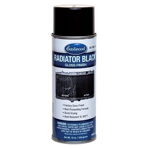 EASTWOOD RADIATOR BLACK PAINT GLOSS AEROSOL 12 OZ