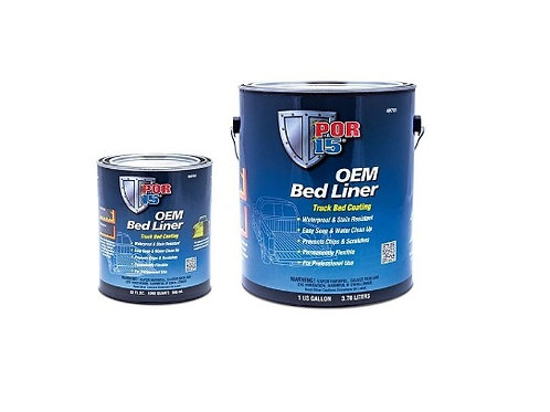 POR15 OEM Bed Liner Black Gallon 49701