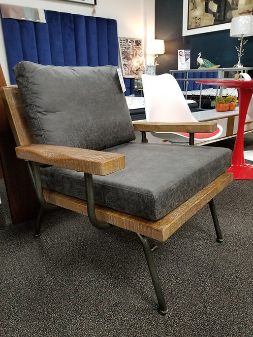 Rustic/Industrial Accent Chair