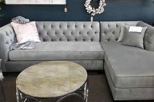Upholstered Custom Fabric Sofa