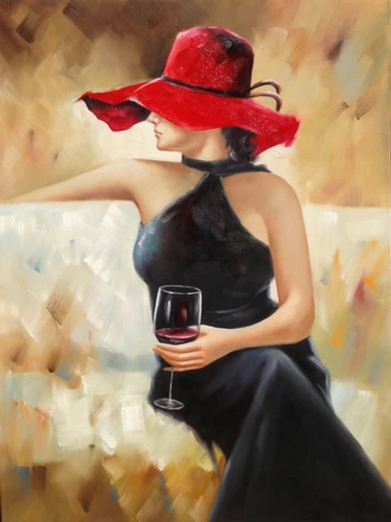 Red Hat Lady