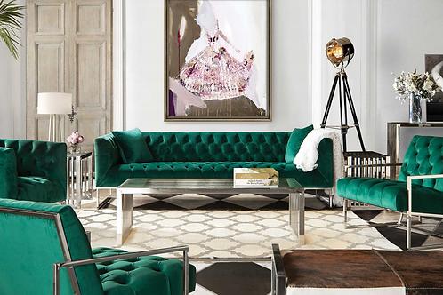 Crawford Emerald Sofa