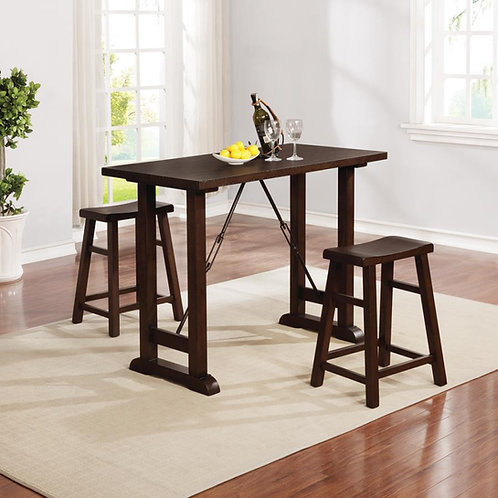 3pc counter height dining set