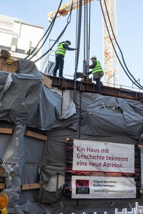 Fassadentranslozierung, Hamburg