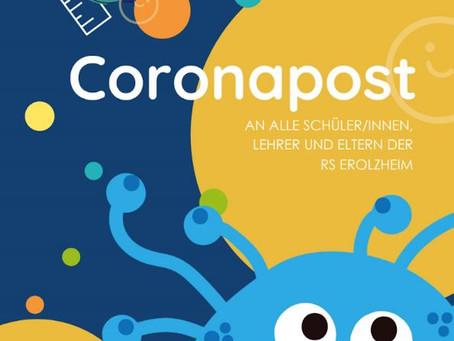Coronapost 1 - Mai
