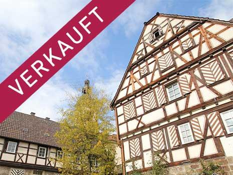 """Das Amtshaus """"Die Burg"""" in Odenheim (Ba-Wü)"""