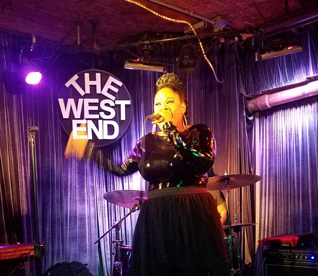 Live! at the West End Lounge. NYC