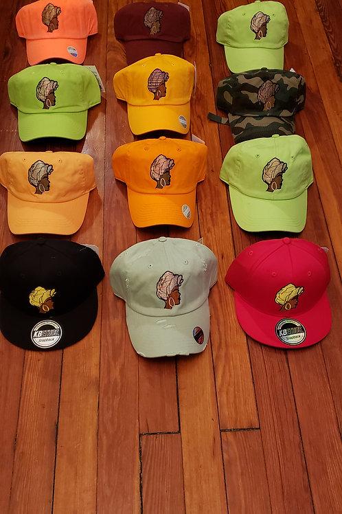 Queen face hats!